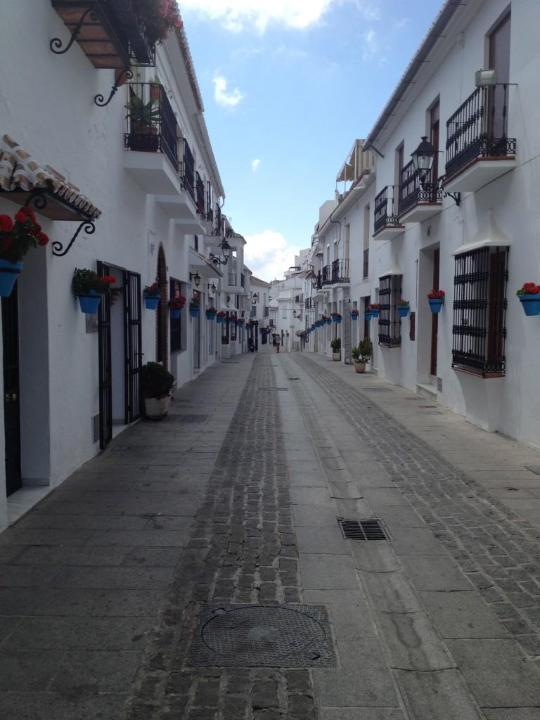 Street in Mijas
