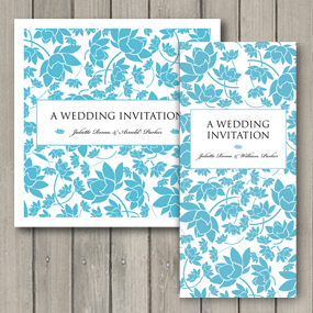 Florence Wedding Invite - DL and Square format