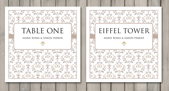 True Love Wedding Stationery