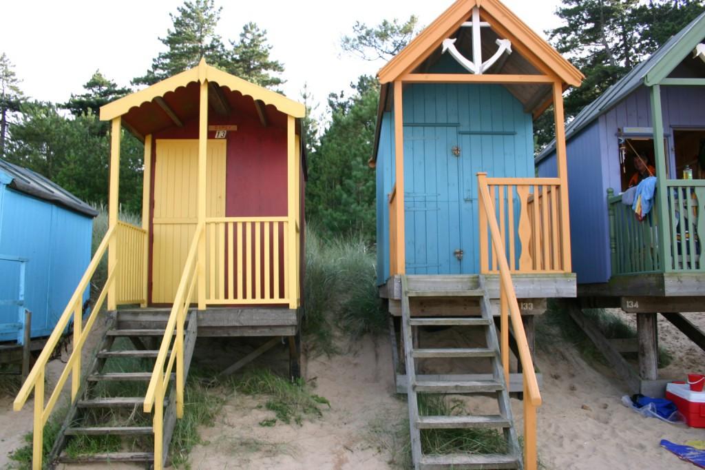 Beach Hut multi colou