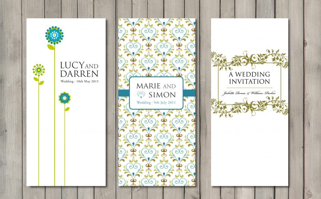 wedding invitations for £1.25