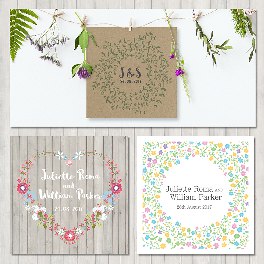 Spring Wedding Stationery 2017 sm