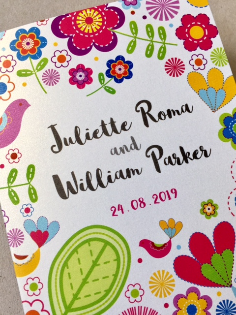 Revamped Sunshine DL Wedding Invitation