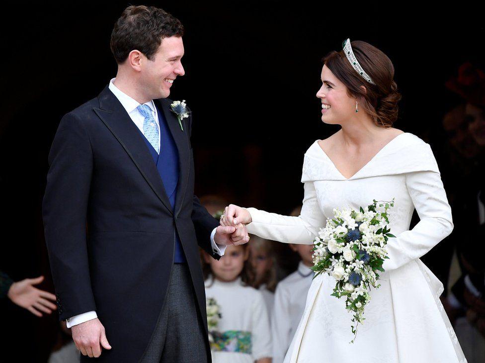 Princess Eugenie The Beautiful Bride Paperchain Wedding